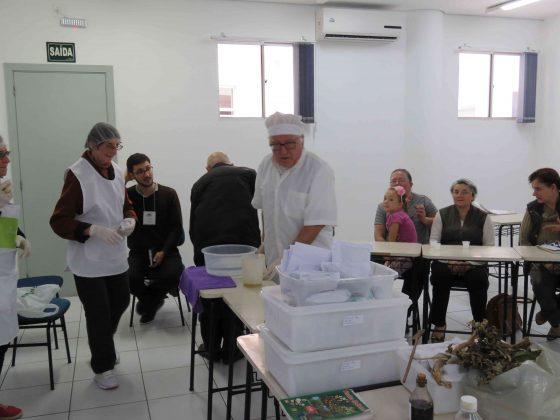 Oficina produção de fitoterápicos | V Seminário Arquidiocesano da Pastoral da Saúde
